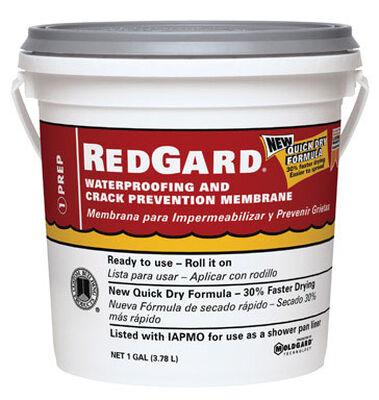 RedGard Ready to Use Waterproofing and Crack Prevention 1 gal.