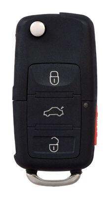 DURACELL Advanced Remote Automotive Replacement Key VW 1J0-959-753-AM High Security Flip Key Do