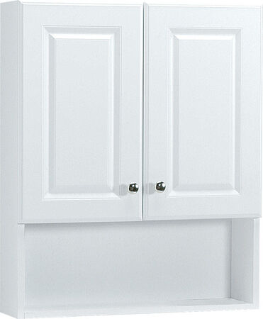 Continental Cabinets Bath Storage Cabinet 28 in. x 23 in. x 6-1/2 in. White