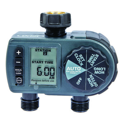 Orbit Programmable 2 zone Water Timer