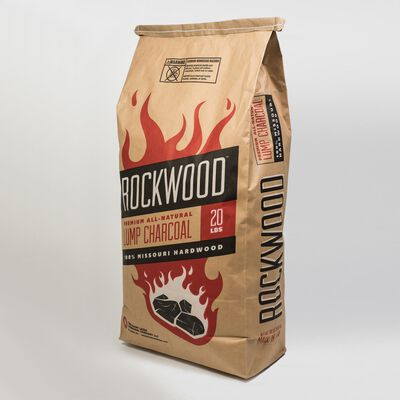 Rockwood Hardwood Lump Charcoal 20 lb.