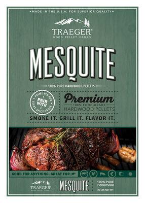 Traeger Mesquite Hardwood Pellets 20 lb.