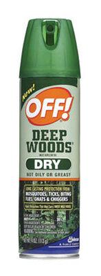 Deep Woods OFF! Insect Repellent DEET 25% Spray 4 oz.