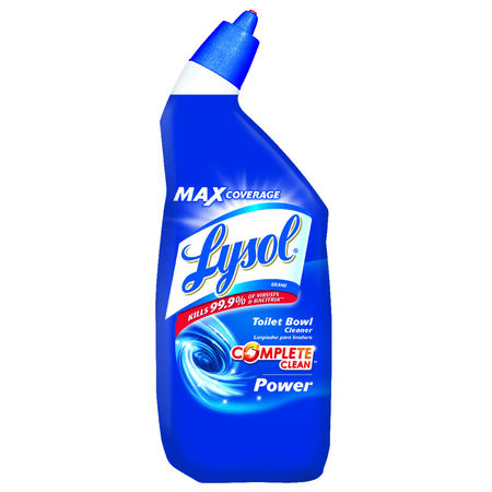 Lysol Complete Clean Liquid Toilet Bowl Cleaner 24 oz.