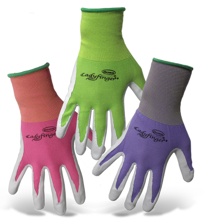Glove Ladies Nitrile Coated XS