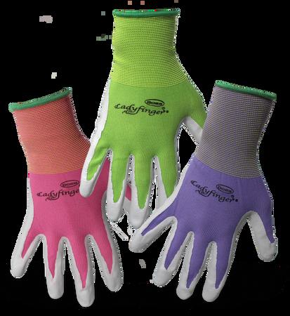Glove Ladies Nitrile Coated XS