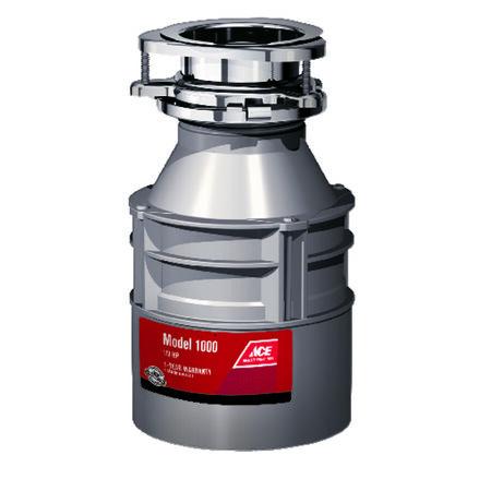 Ace Garbage Disposal 1/3 hp Gray