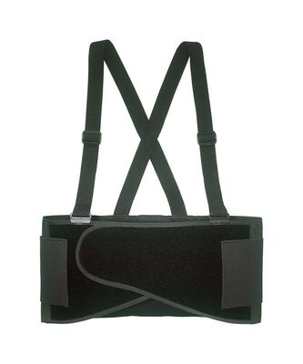 CLC Black Elastic Back Support Belt 38 To 47