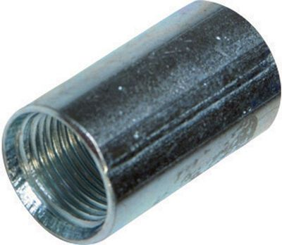 Sigma 1 in. Dia. Galvanized Steel Electrical Conduit Coupling IMC