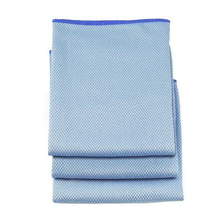 Unger Professional Microfiber Cleaning Cloth 18 in. W x 18 in. L 3 pk