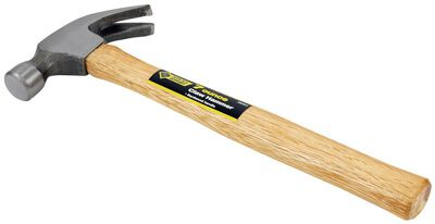Steel Grip 7 oz. Strike Face Hardwood Claw Hammer Steel