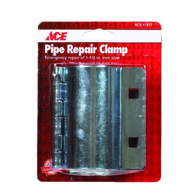 Ace 1-1/2 in. Dia. Steel Pipe Repair Clamp