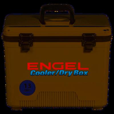 Engel Dry Box Cooler 13 Quart - Tan - UC13T