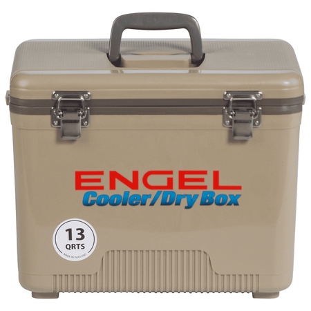 Engel Dry Box Cooler 13 Quart - Tan - UC13T