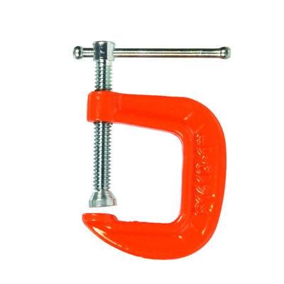 Bessey Steel Adjustable C-Clamp 1 in. x 1 in. D
