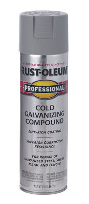 Rust-Oleum Professional Cold Gray Metallic Galvanizing Compound Spray 20 oz.