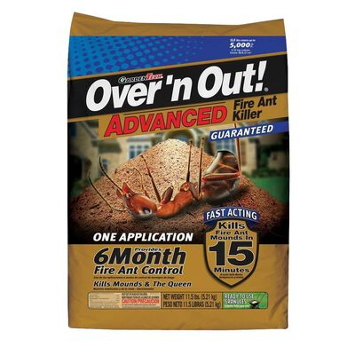 GardenTech Over 'n Out! Advanced Insect Killer For Fire Ants 11.5 lb.