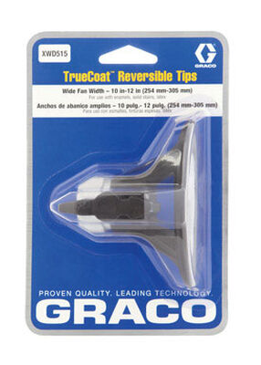 Graco Truecoat 515 Wide Reversible Tip 10 in.-12 in. For use with Graco Truecoat Pro Cordless Airles