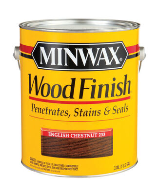 Minwax Wood Finish Transparent Oil-Based Wood Stain English Chestnut 1 gal.