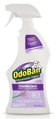 OdoBan 32 oz. Lavender Scent Disinfectant Fabric & Air Freshener