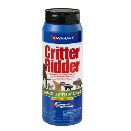 Havahart Critter Ridder For Rodents Animal Repellent Granules 2 lb.