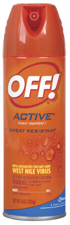 OFF! Insect Repellent DEET 15% Aerosol 6 oz.