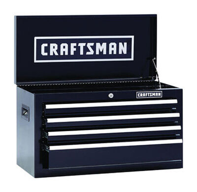 Craftsman 4 drawer Top Tool Chest 12 in. D x 26 in. W x 15-1/4 in. H