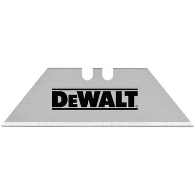 DeWalt Dewalt Steel Heavy Duty Utility Knife Replacement Blade 75 pk