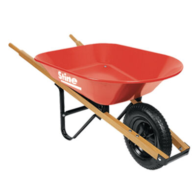 Ace Steel Single Wheel Wheelbarrow 4 cu. ft.
