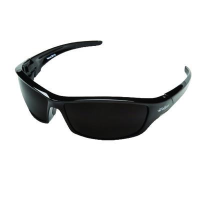 Edge Eyewear Multi-Purpose Safety Glasses Antifog Black Lens Black Frame Bulk