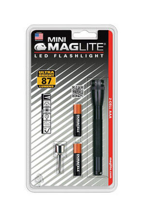 Maglite Mini 87 lumens Flashlight LED AAA Black