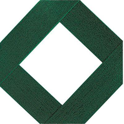 Master Mark Traditional Lattice Panel 4 ft. x 8 ft. Plastic Green