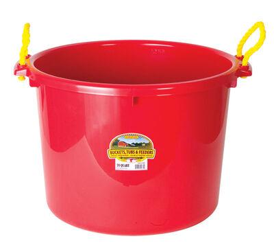 Miller 70 qt. Muck Tub For Livestock 21-3/4 in. D x 17-1/4 in. H