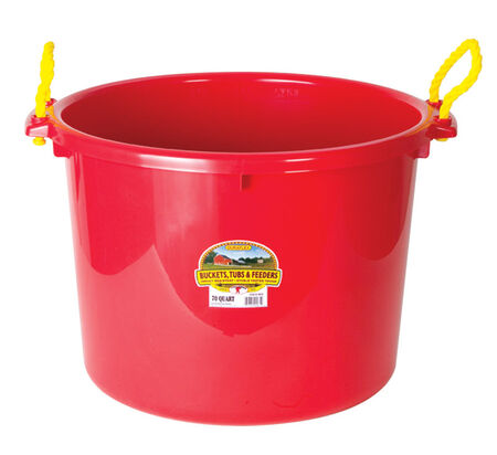 Miller 70 qt. Muck Tub For Livestock 21-3/4 in. D x 17-1/4 in. H