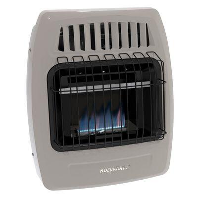 10,000 Btu Blue Flame Propane(LP) & Natural Gas(NG) Vent Free Wall Heater