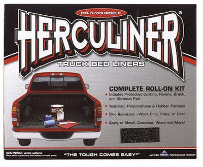Herculiner Truck Bed Coating Kit 1 gal. Black Boxed