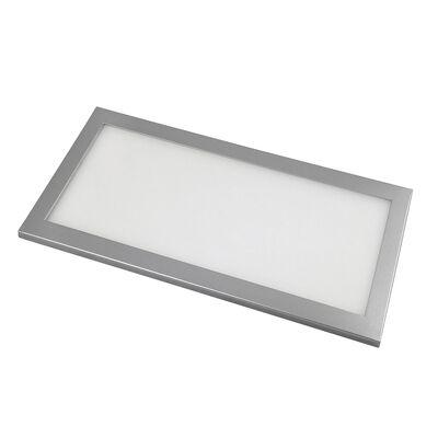 AmerTac Edgelit 9 in. L Plug-In LED Under Cabinet Light Strip Silver 500