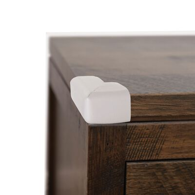 Dreambaby Grey Adhesive Foam Corner Cushions 1 in. H x 2.5 in. W 4 pk