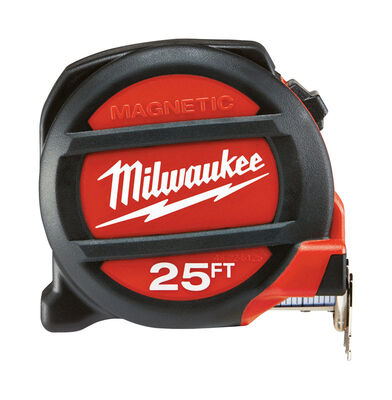 Milwaukee Magnetic Tape Measure 25 ft. L