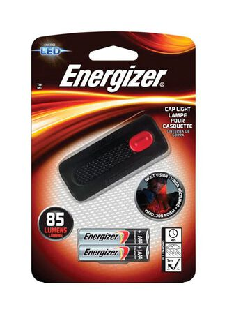 Energizer 85 lumens Cap Light LED AAA Black