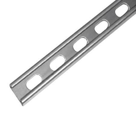 Unistrut 1-5/8 in. x 13/16 in. x 10 ft. 14 gauge Cord Channel Zinc