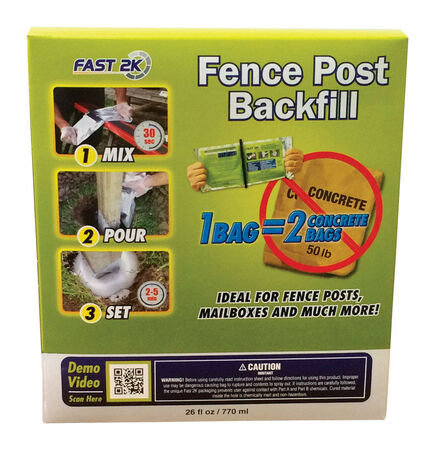 Fast 2K 26 oz. Fence Post Backfill