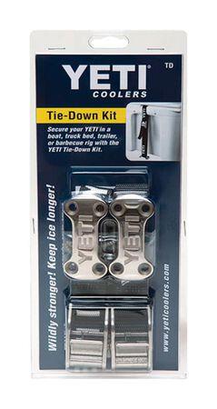 YETI Tie-Down Kit Black 1 pk