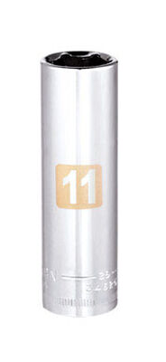 Craftsman 11 Alloy Steel Deep 1/4 in. Drive in. drive Socket