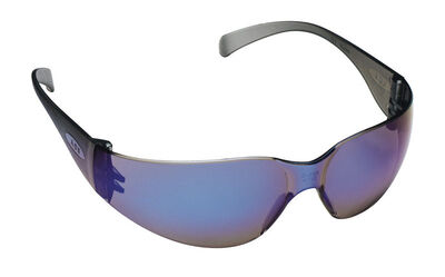 3M Virtua Multi-Purpose Safety Glasses Blue Lens Blue Frame Carded