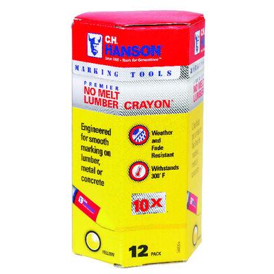C.H. Hanson Yellow Lumber Crayon
