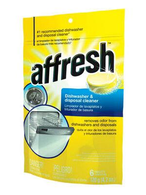 Affresh 6 tablet Dishwasher and Disposal Cleaner