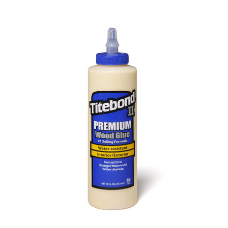 Titebond II Premuim Cream Wood Glue 16 oz.