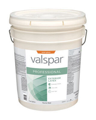 Valspar Contractor Professional Exterior Acrylic Latex Paint 5 gal.