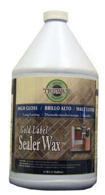 Trewax Gold Label Sealer Wax 1 gal.